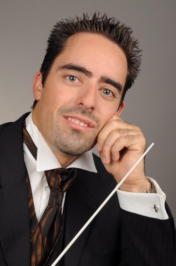 Mit dabei in Ischgl: Gastdirigent Rafael Camartin Foto: Schweizer Militärmusik (Abdruck honorarfrei)