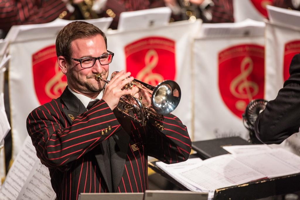 Beeindruckende Soli und schwungvolle Interpretationen Schweizer und internationaler Brass-Band-Literatur geben Einblicke in die Vielfalt der Blasmusik. Foto: Schweizer Militärmusik (Abdruck honorarfrei)