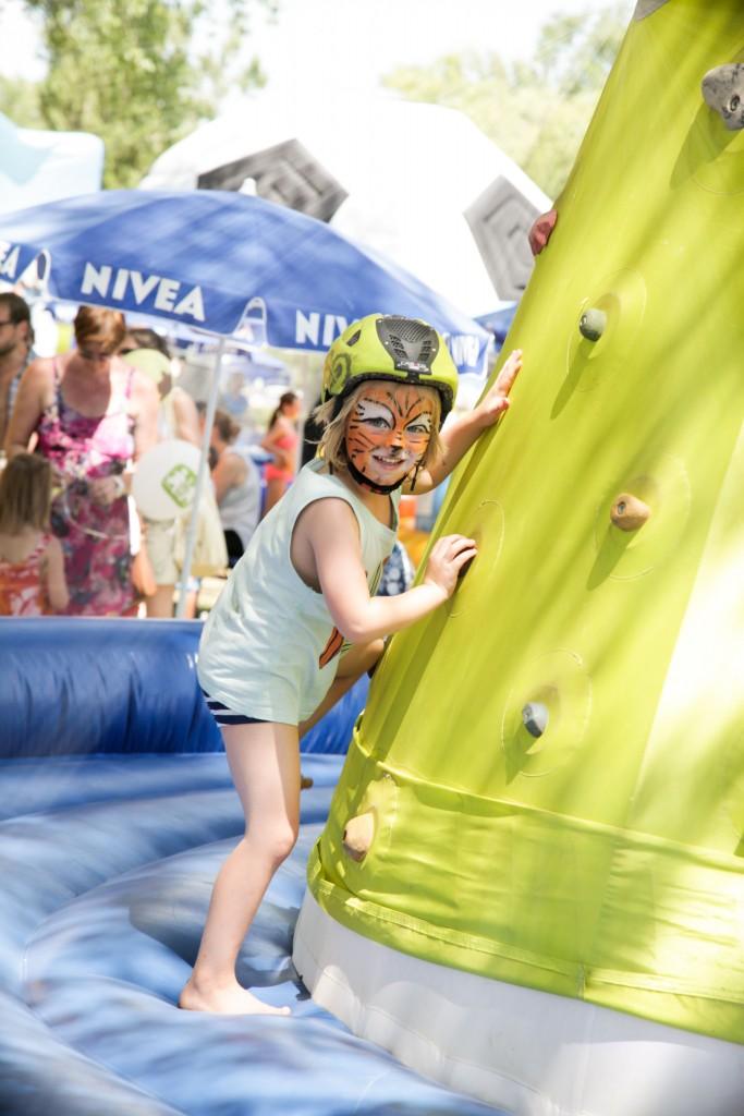 """Beim """"NIVEA Familienfest"""" von 22. bis 23. Juli in Oetz gibt es für alle Kinder viel zu erleben. Bildnachweis: STEINER Familyentertainment (Abdruck honorarfrei)"""