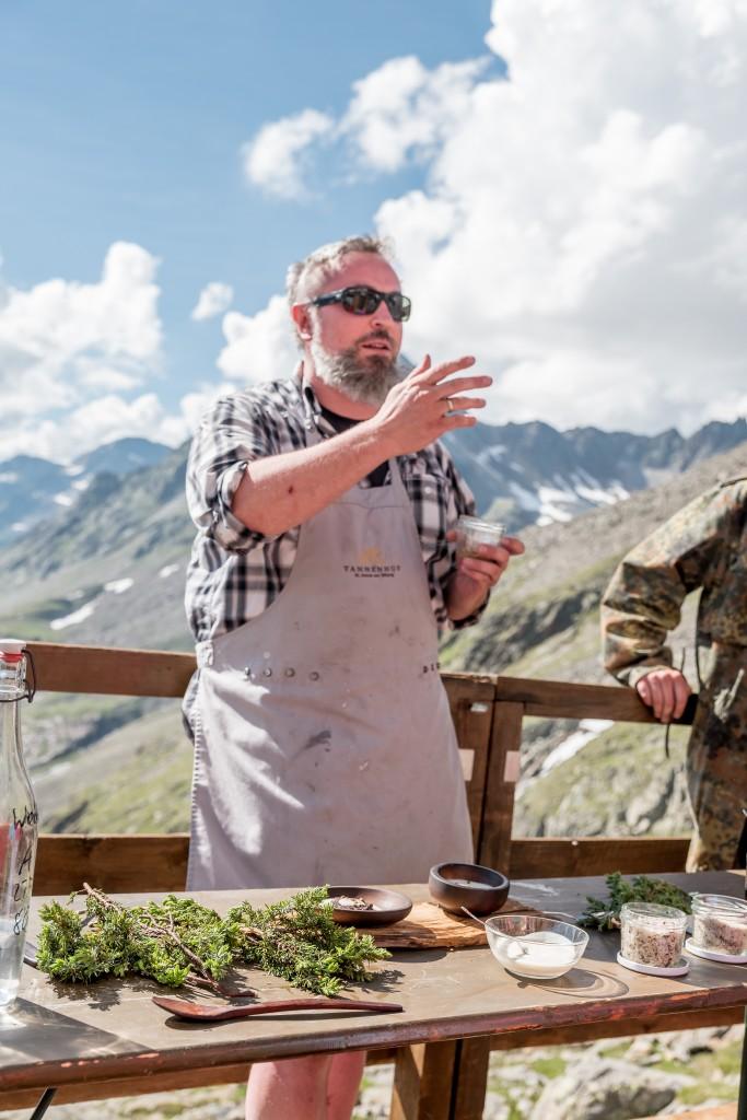 Jeremias Riezler begeisterte auf der Siegerlandhütte in Sölden.  Bildnachweis: Ötztal Tourismus / Alexander Maria Lohmann (Abdruck honorarfrei)