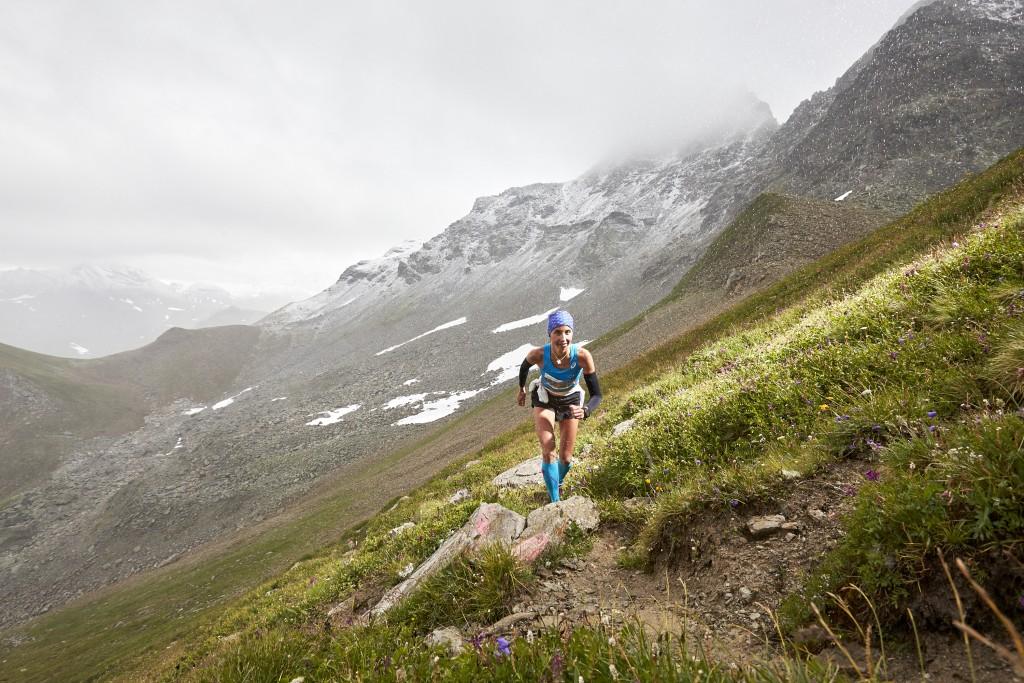 Zipser Katharina aus Österreich holte sich den Sieg bei den Damen auf der Medium-Distanz. Hinweise: TVB Paznaun - Ischgl (Abdruck honorarfrei)