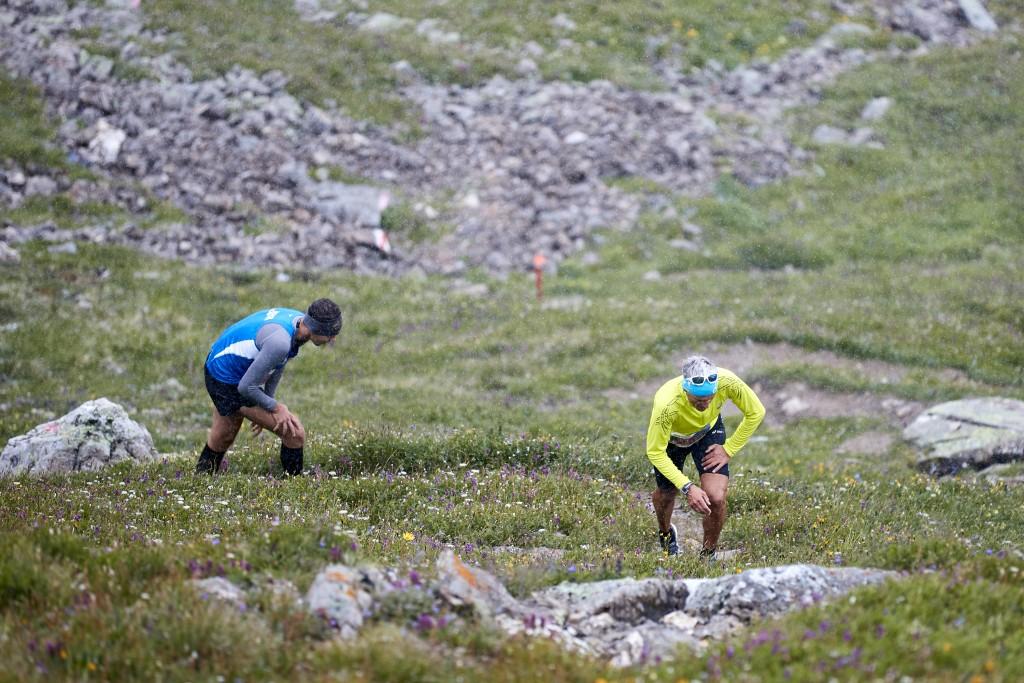 Mit knapp 600 Läufern aus 22 Nationen konnten sich die Veranstalter über ein großes internationales Starterfeld freuen. Hinweise: TVB Paznaun - Ischgl (Abdruck honorarfrei)