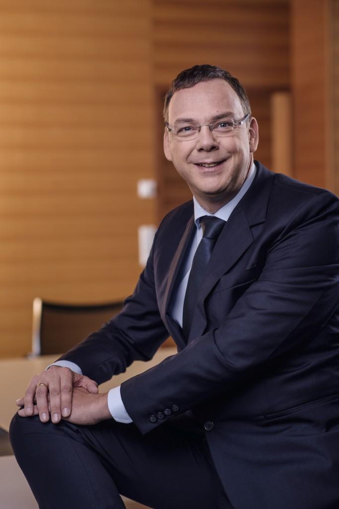 Michael Pfeifer freut sich über die aktuellen Entwicklungen am Pelletsmarkt. Bildnachweis: Pfeifer Group (Abdruck honorarfrei)