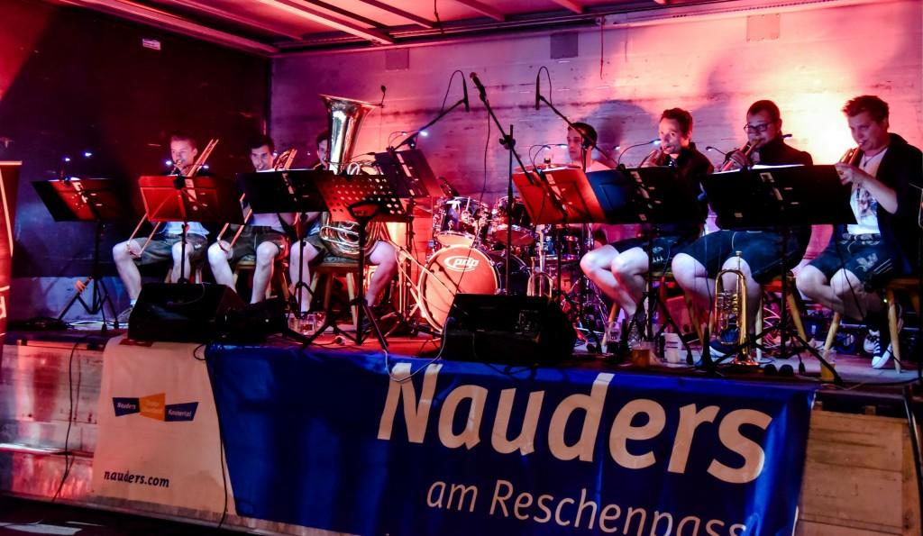 Sehen- und Hörenswertes gibt´s im Sommer in Nauders. Bildnachweis: TVB Tiroler Oberland - Nauders Tourismus (Abdruck honorarfrei)