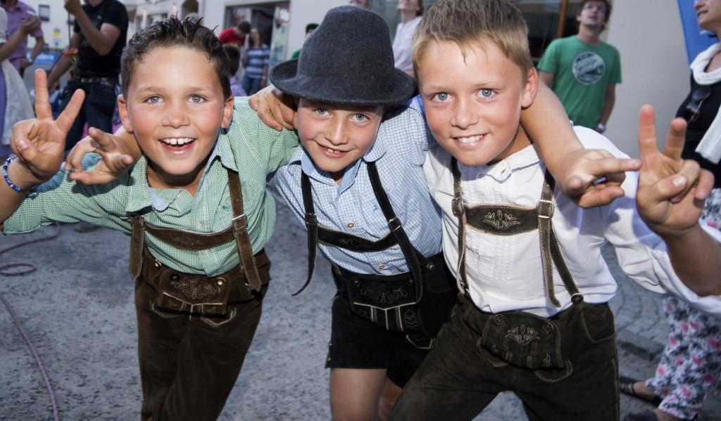 """""""Rock die Wadln"""" begeistert auch die jungen Besucher. Bildnachweis: TVB Tiroler Oberland - Nauders Tourismus (Abdruck honorarfrei)"""