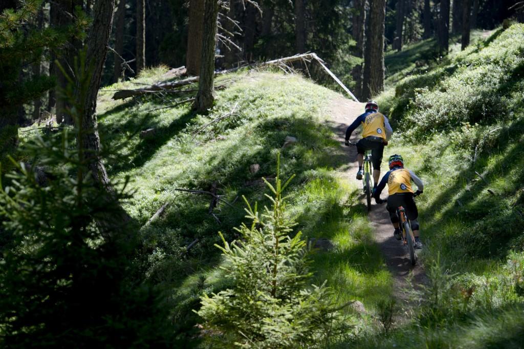 360 Bike-Sportler werden beim 3Länder Enduro Race erwartet. Bildnachweis: Manfred Stromberg (Abdruck honorarfrei)