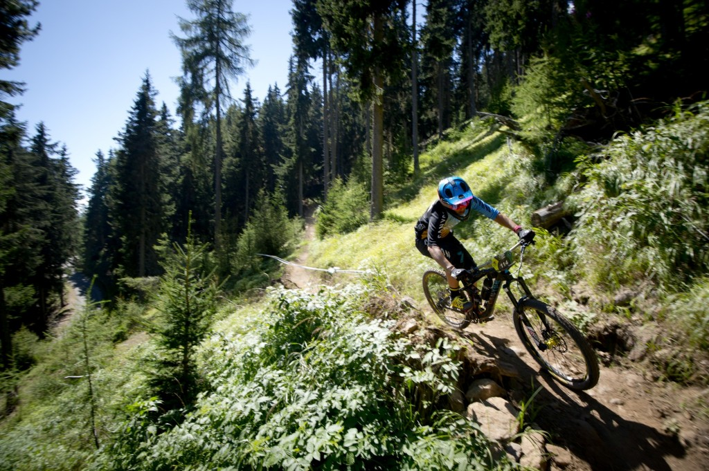 Die Trails bieten Spaß und Herausforderung zugleich. Bildnachweis: Manfred Stromberg (Abdruck honorarfrei)