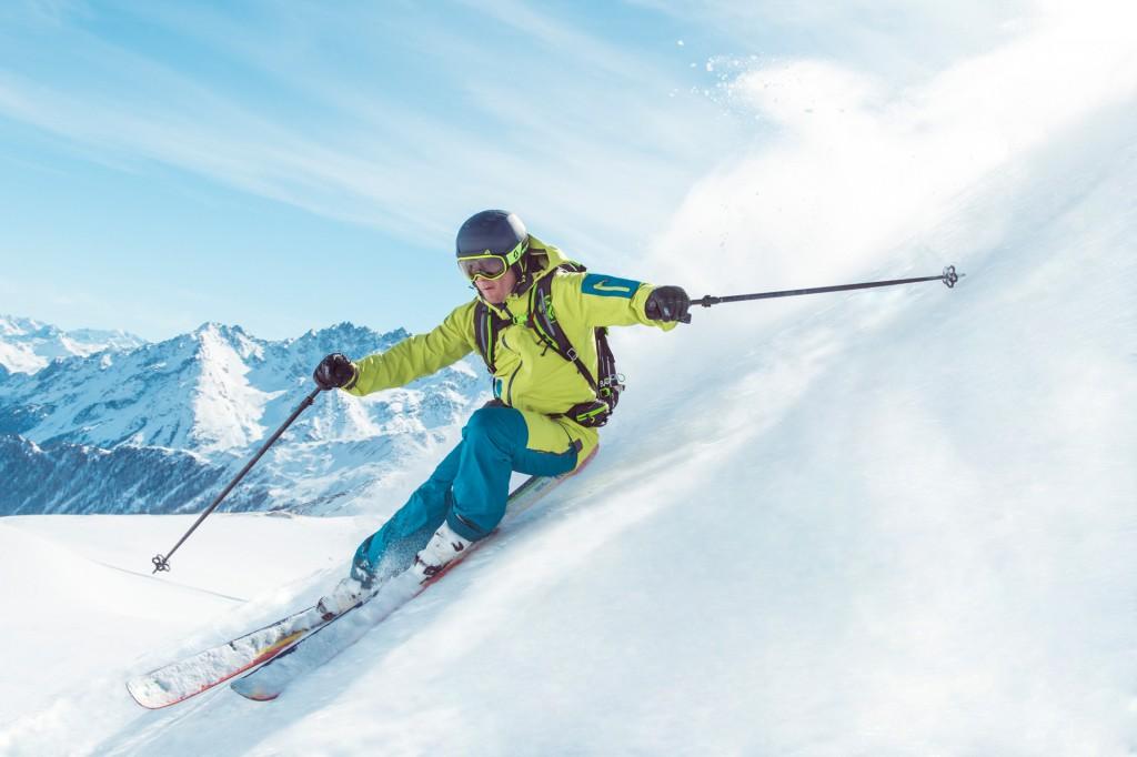 Beste Skibedingungen bis Anfang Mai - dank der Höhenlage des Skigebiets zwischen 1.400 und 2.900 Metern. Hinweise: TVB Paznaun - Ischgl (Abdruck honorarfrei)