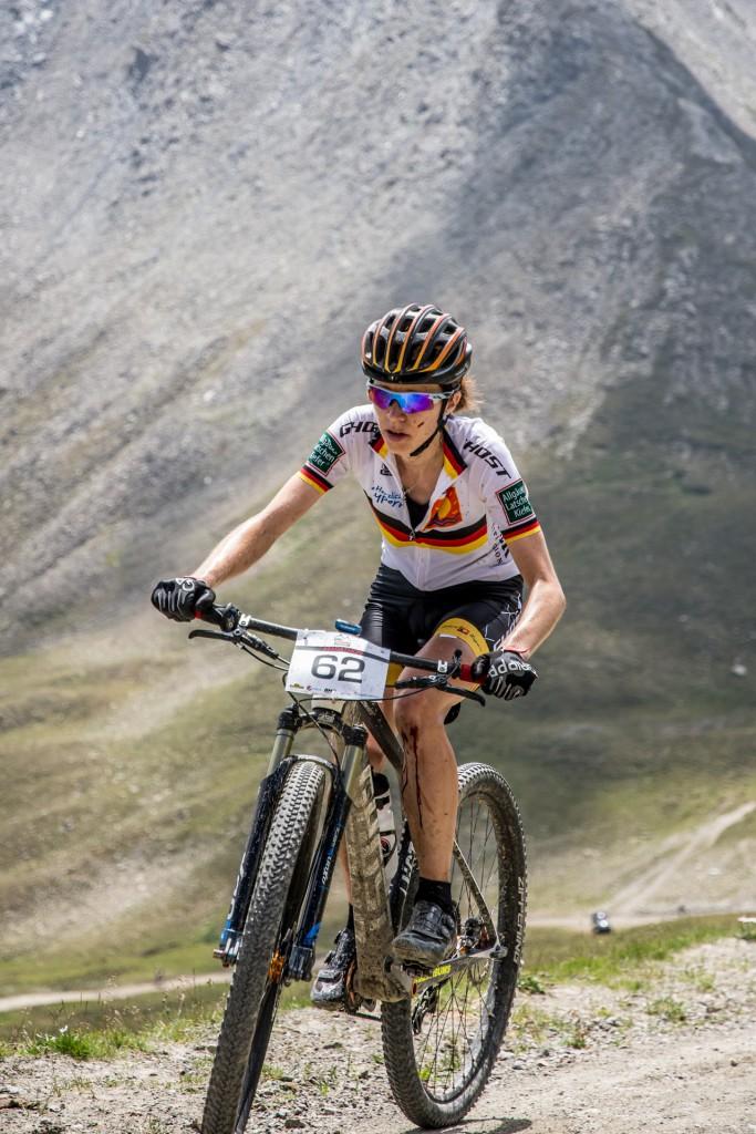 Die Königsdisziplin entschied Silke Ulrich bei den Damen für sich - © TVB Paznaun-Ischgl