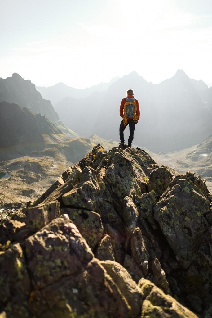 Die Möglichkeiten für besondere Alpinerlebnisse sind am Arlberg schier grenzenlos. Bildnachweis: TVB St. Anton am Arlberg / Wolfgang Ehn (Abdruck honorarfrei)