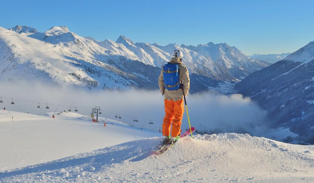 St. Anton am Arlberg gilt im Winter als einer der renommiertesten Wintersportorte weltweit und ist Treffpunkt für Skibegeisterte aus mehr als 50 Nationen. Bildnachweis: TVB St. Anton am Arlberg/Sepp Mallaun (Abdruck honorarfrei)