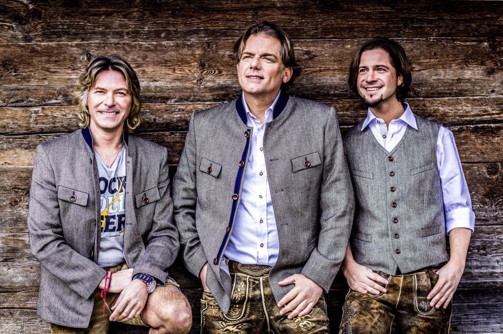 Die Trenkwalder werden den Fans am 10. Dezember musikalisch einheizen. FOTO: Die Trenkwalder (Abdruck honorarfrei)