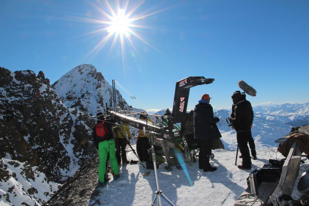 Das Kaunertal ist ein gefragter Drehort für nationale und internationale Filmproduktionen. Bildnachweis: Kaunertaler Gletscher (Abdruck honorarfrei)