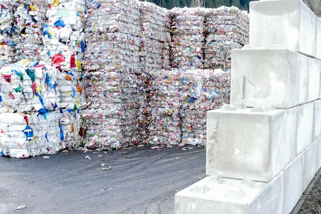 Die Mauer dient auch als Schutz bei stürmischen Wetterverhältnissen. Bildnachweis: Höpperger Umweltschutz (Abdruck honorarfrei)