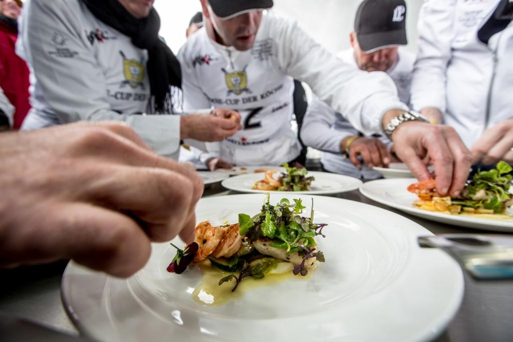 Sterneköche bei der kulinarischen Prüfung. Copyright: TVB Paznaun-Ischgl_Laurent Perrier