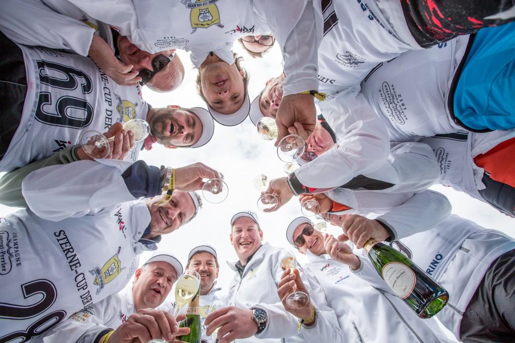 Köche in Siegerlaune beim Sterne-Cup der Köche in Ischgl. Copyright: TVB Paznaun-Ischgl_Laurent Perrier