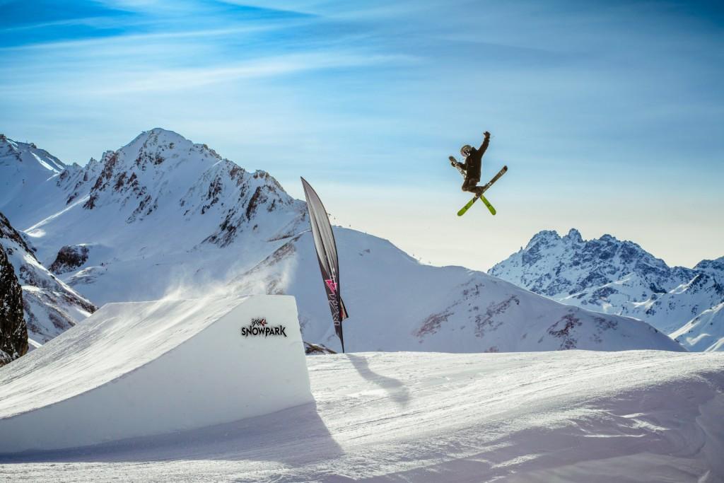 Der Ischgl Snowpark startet durch wie nie zuvor. Copyright: TV Paznaun - Ischgl