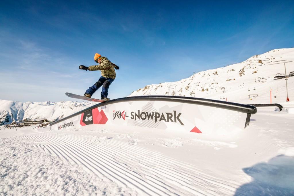 Im Ischgl Snowpark wurde das gesamte Set-up perfektioniert. Copyright: TVB Paznaun - Ischgl