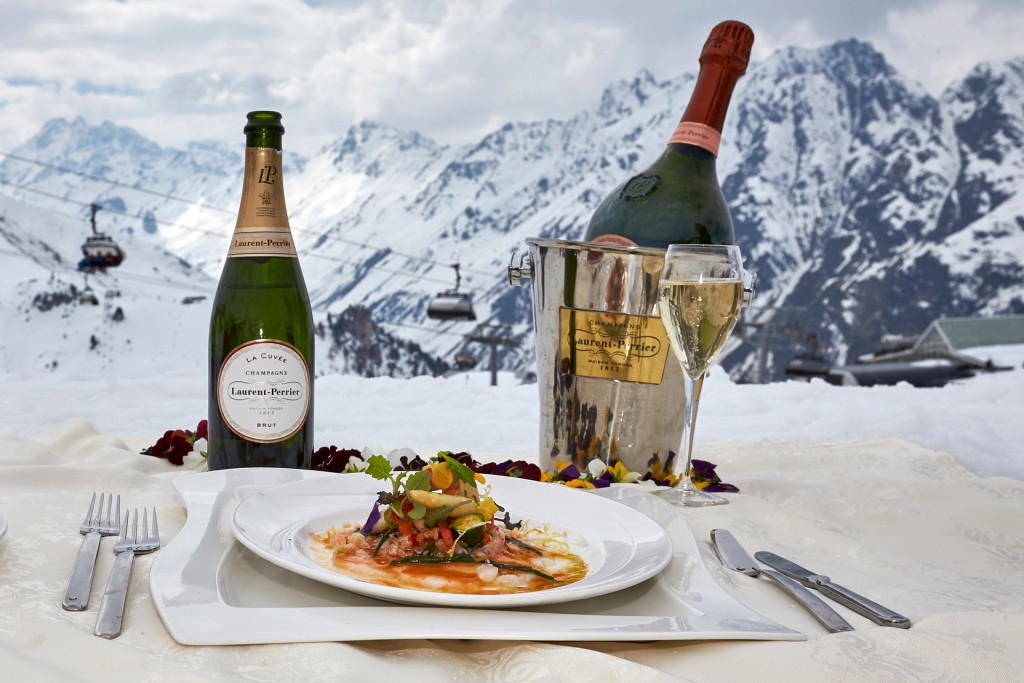 Sterneköche auf Ski beim 21. Sterne-Cup der Köche in Ischgl. Copyright: TVB Paznaun - Ischgl