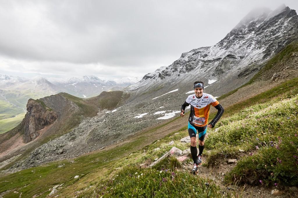 In der Königsdisziplin bezwingen die Athleten das knapp 3.000 Meter hohe Kronenjoch. Copyright: TVB Paznaun - Ischgl