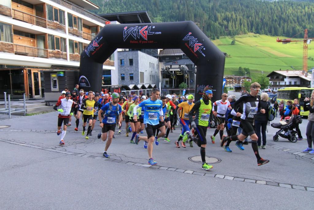Beim 7. Silvrettarun 3000 geht es für Hobbyläufer und Marathonprofis von Ischgl nach Galtür. Copyright: TVB Paznaun - Ischgl