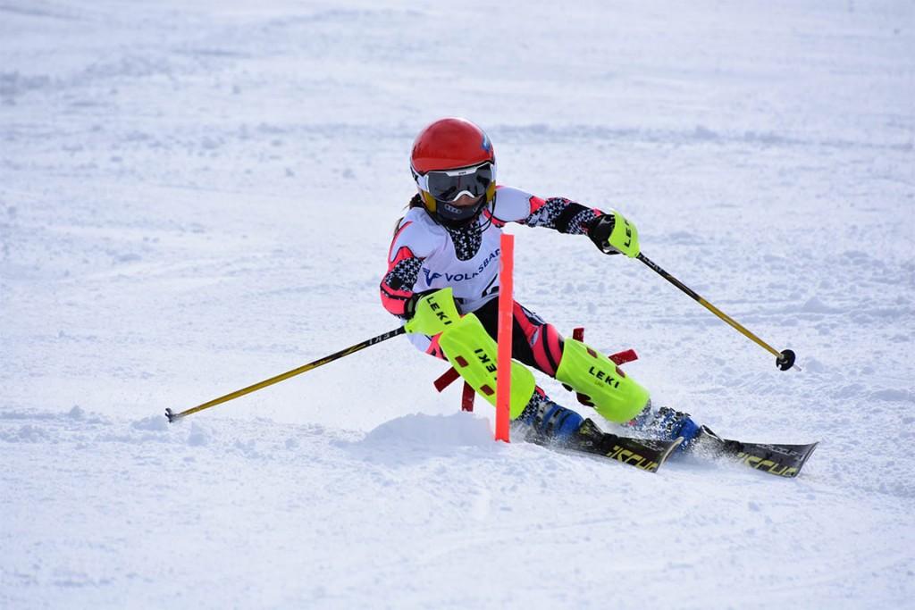 Lara Tschiderer ging als Siegerin der Klasse Kinder U9 weiblich hervor.