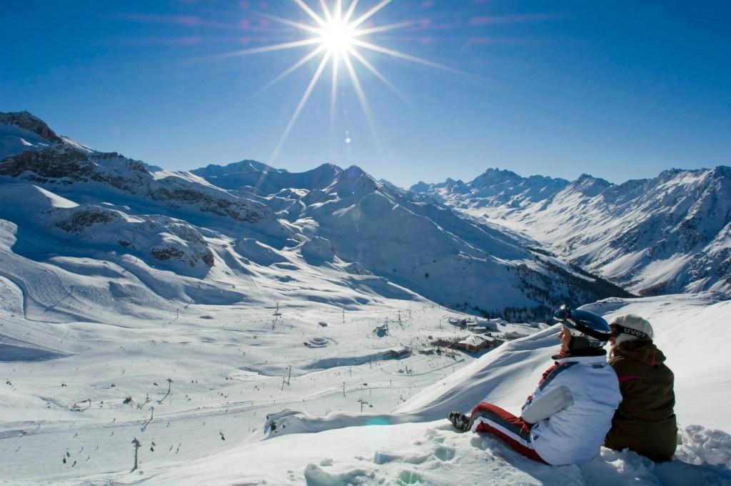 Im Skigebiet Silvretta Arena Ischgl-Samnaun wedelt es sich am besten im Alpenraum Copyright: TVB Paznaun – Ischgl