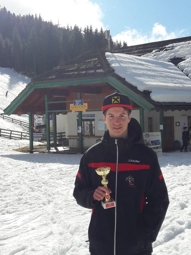 Adrian Klotz wurde vom Tiroler Skiverband für die ÖSV Schülermeisterschaften nominiert… Fotonachweis: Manuela Klotz