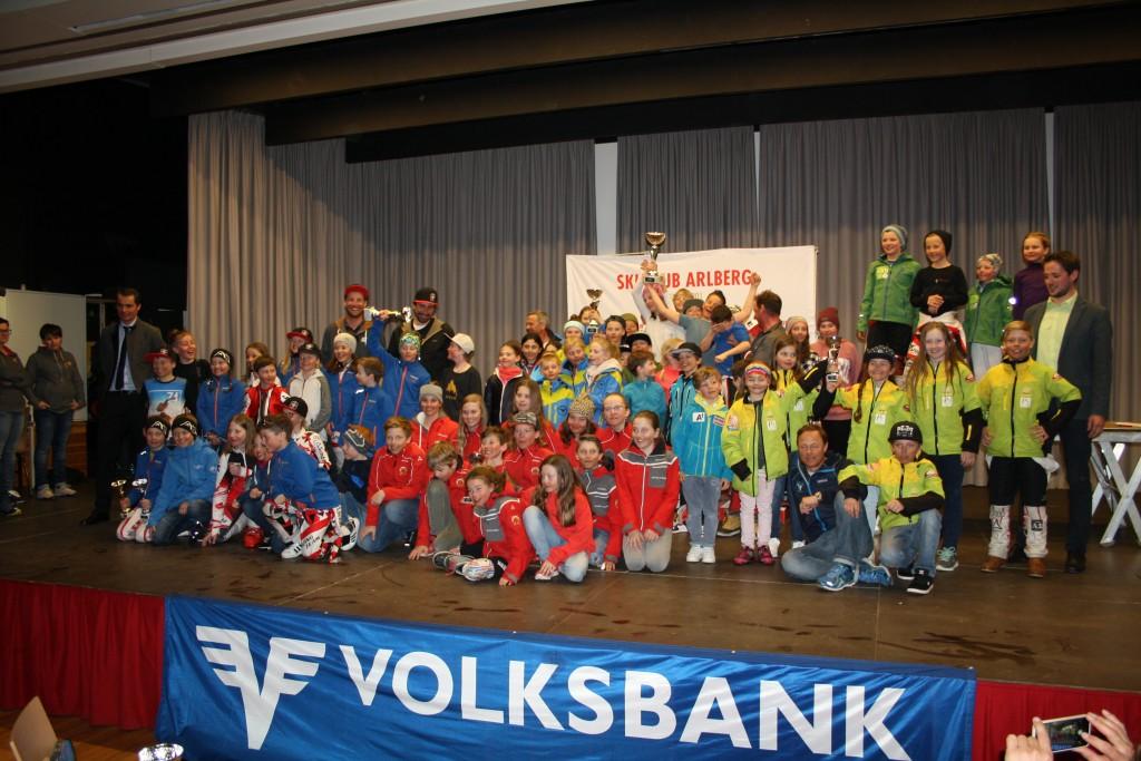 Die Vereinswertung des Volksbank Kindercups konnte der SK Nauders für sich entscheiden…. Fotonachweis: TSV Bezirk Landeck/Elisabeth Zangerl